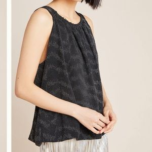 NWT Anthropologie Carly shimmer top